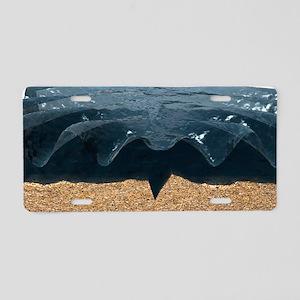 Tsunami generation Aluminum License Plate