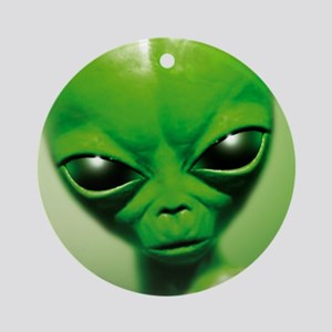Roswell alien Round Ornament