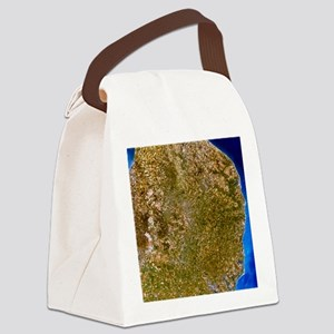 True-colour satellite image of Ea Canvas Lunch Bag