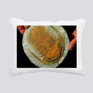 Trilobite fossil Rectangular Canvas Pillow