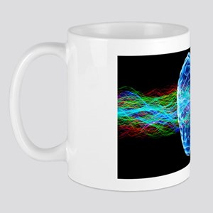 Human brain, conceptual artwork Mug