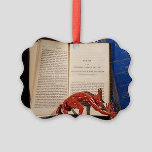 Robert Taylor the devil's chaplai Picture Ornament