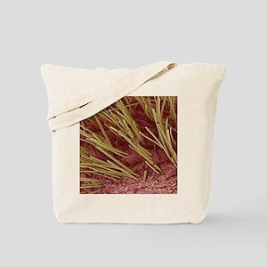 Human hair, SEM Tote Bag