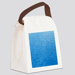 Ripples in a swimming pool Canvas Lunch Bag