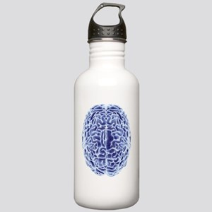 Human brain, computer  Stainless Water Bottle 1.0L