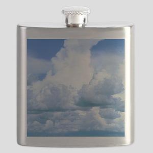 Towering cumulus clouds Flask