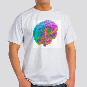 Human brain, computer artwork Light T-Shirt