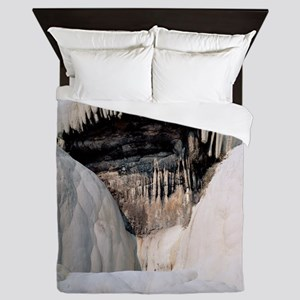 Travertine stalactites Queen Duvet