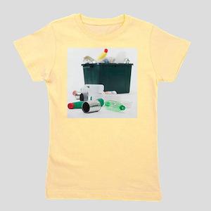 Household recycling Girl's Tee