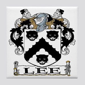 Lee Coat of Arms Tile Coaster
