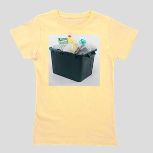 Household recycling box Girl's Tee
