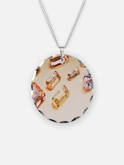 Topaz gemstones Necklace