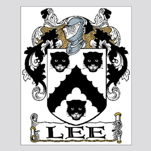 Lee Coat of Arms Unframed Print