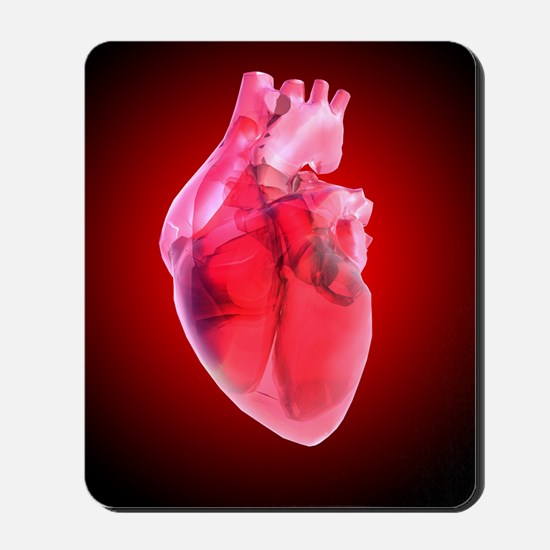 Heart of glass, artwork Mousepad