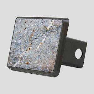 Quartz vein in granite Rectangular Hitch Cover