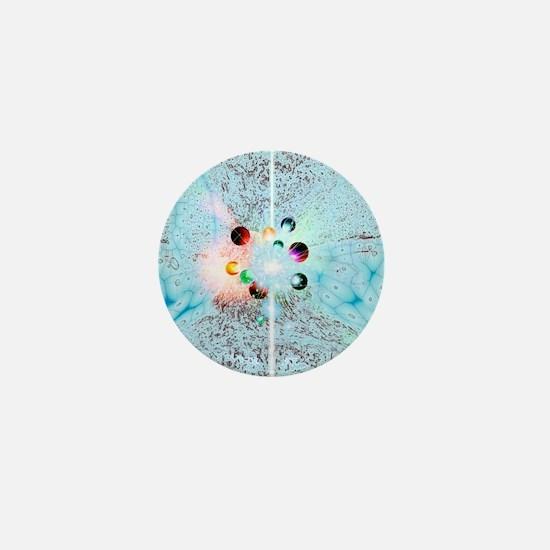 Quantum universe Mini Button
