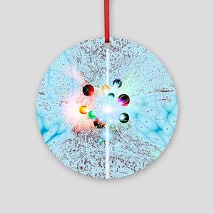 Quantum universe Round Ornament