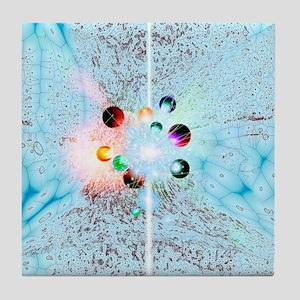 Quantum universe Tile Coaster
