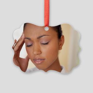 Headache Picture Ornament