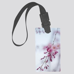 Prunus subhirtella 'Pendula' Large Luggage Tag