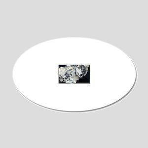 Tellurium 20x12 Oval Wall Decal