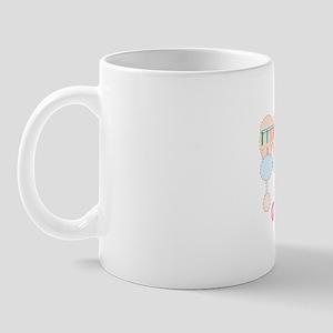 Protein synthesis, artwork Mug