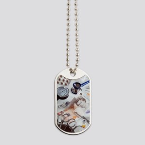 Healthcare costs Dog Tags