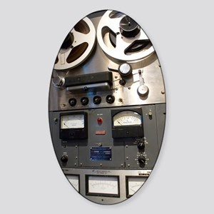 Tape recorder Sticker (Oval)