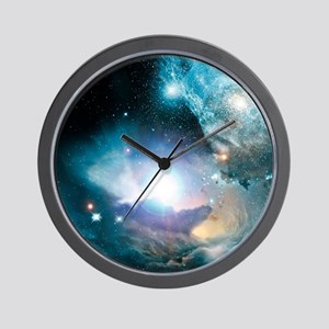Primordial quasar, artwork Wall Clock