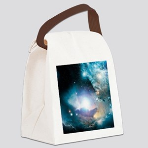 Primordial quasar, artwork Canvas Lunch Bag