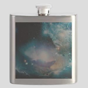 Primordial quasar, artwork Flask