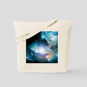 Primordial quasar, artwork Tote Bag