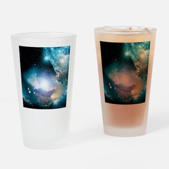 Primordial quasar, artwork Drinking Glass