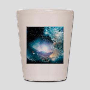 Primordial quasar, artwork Shot Glass