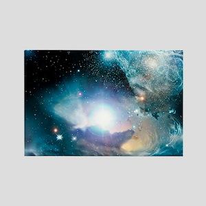Primordial quasar, artwork Rectangle Magnet
