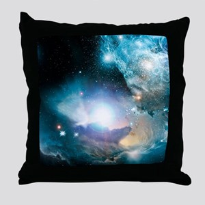 Primordial quasar, artwork Throw Pillow