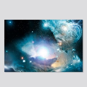 Primordial quasar, artwor Postcards (Package of 8)