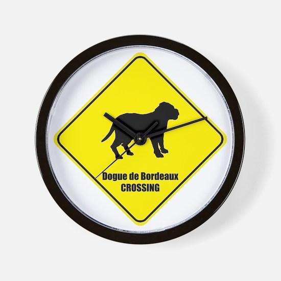 Dogue Crossing Wall Clock