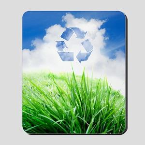 Green living, conceptual artwork Mousepad