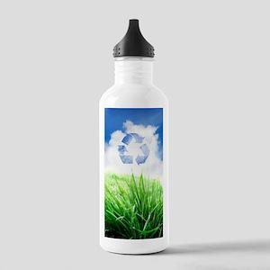 Green living, conceptu Stainless Water Bottle 1.0L
