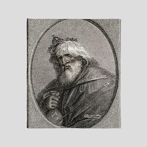 Plutus, Greek god of wealth Throw Blanket