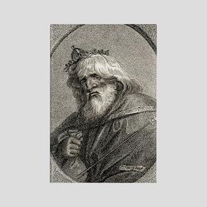 Plutus, Greek god of wealth Rectangle Magnet