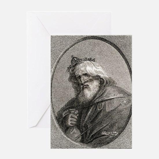 Plutus, Greek god of wealth Greeting Card