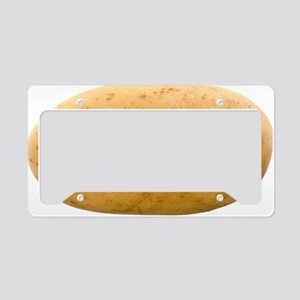 Potato License Plate Holder