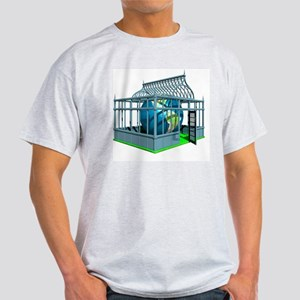 Global warming, conceptual artwork Light T-Shirt
