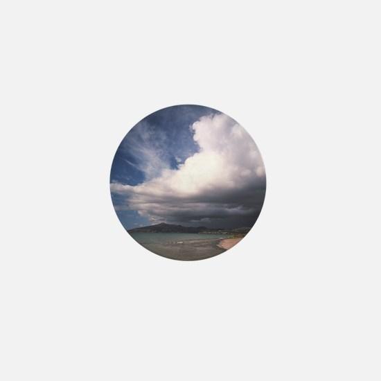 Storm clouds Mini Button