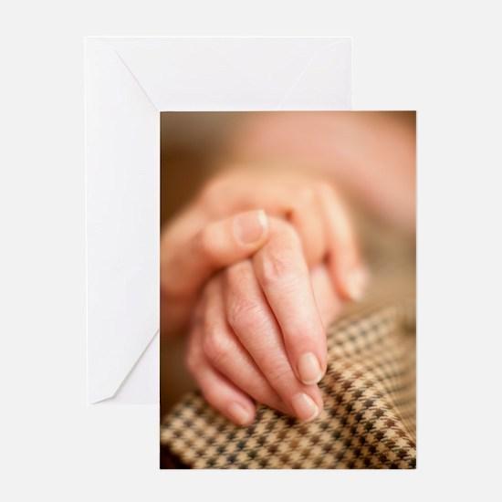 Geriatric care Greeting Card