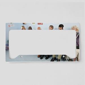 General practice waiting room License Plate Holder