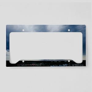Storm cloud License Plate Holder