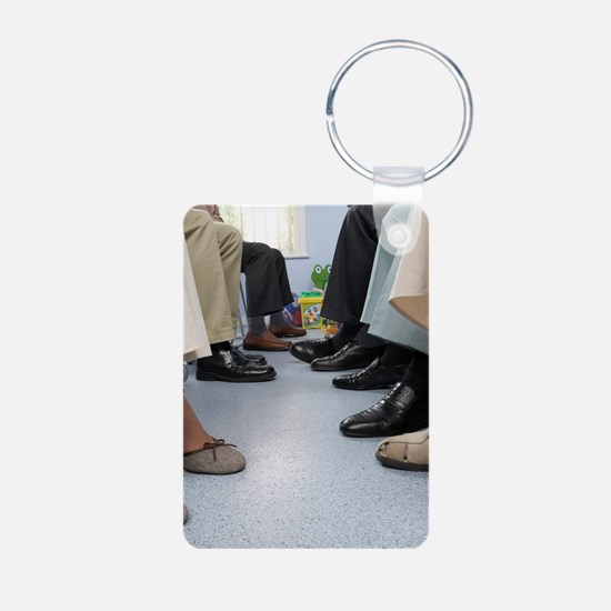 General practice waiting r Keychains